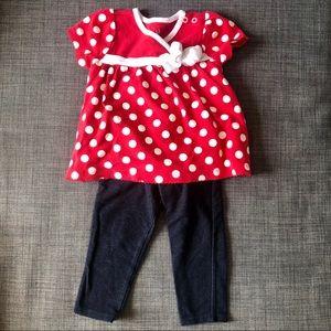 🎀2-Piece Outfit • EUC • Disney + Carter's🎀